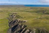 A greening Tundra landscape on Qikiqtaruk-Herschel Island-Canadian Arctic_credit_Jeffrey Kerby_National Geographic Society-www.jpg