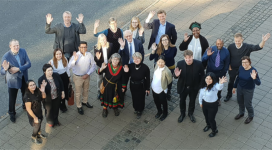 Food (in)Security project group in meeting in Umeå, 2018